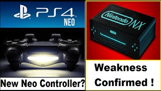 is this the new ps4 neo controller ps4 neo will launch this year nintendo nx is weak