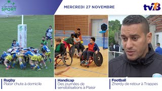 Si On Parlait Sport. Emission du 27 novembre 2019