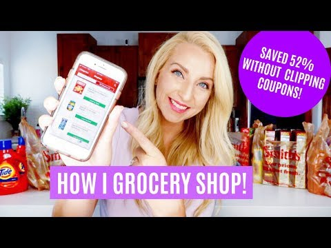 How I Grocery Shop To Save Money & Time! (Without Clipping Coupons)