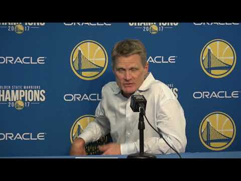 Steve Kerr Postgame Interview / GS Warriors vs Nuggets / Dec 23