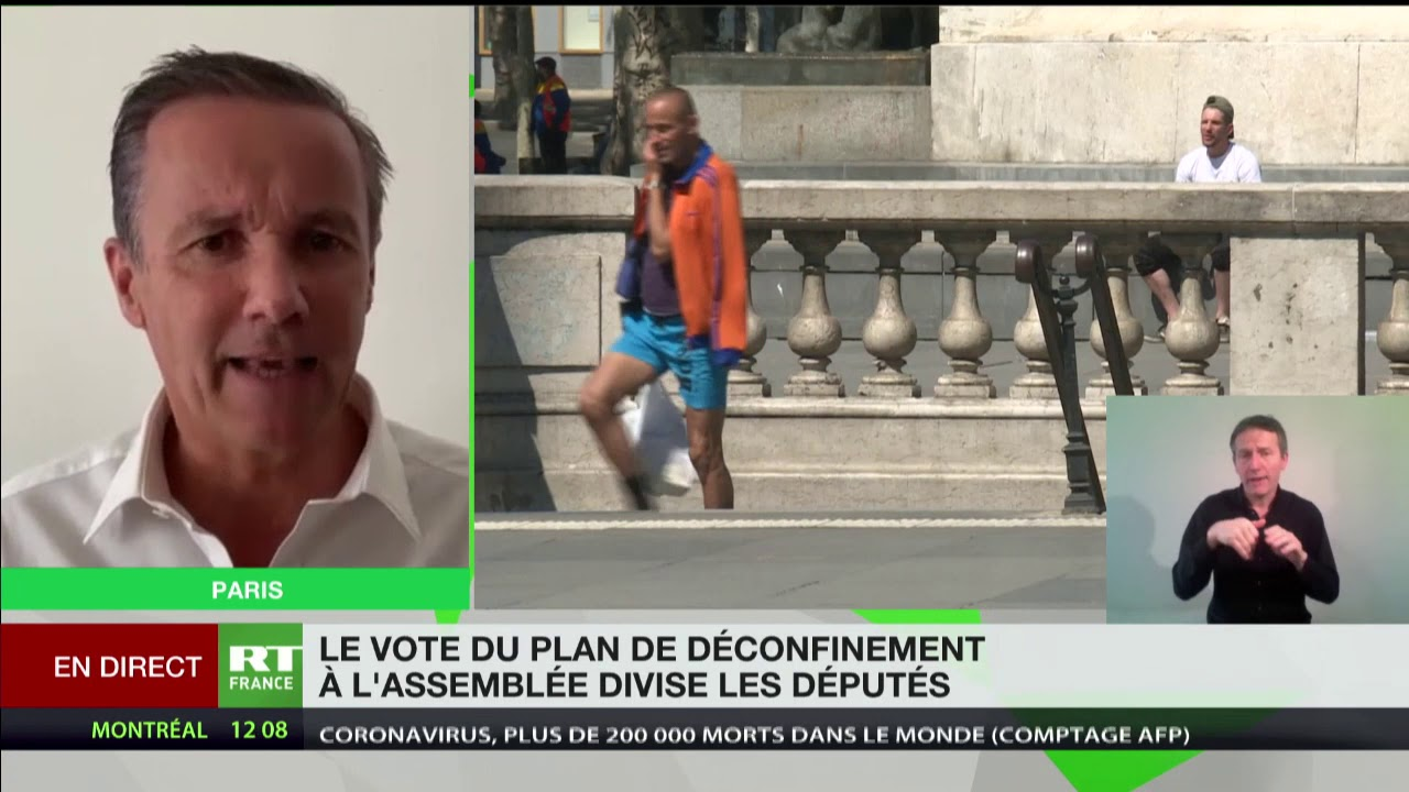 Nicolas Dupont-Aignan : «La réouverture des écoles le 11 mai est une folie»