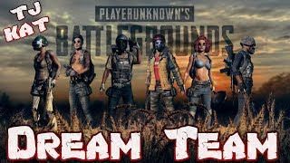 PUBG (Dream Team) victoria con guiris en escuadron de 8 Xbox One (Español)