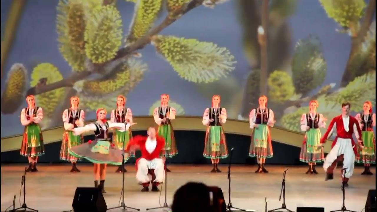 Кубанский казачий хор. Танец «Вербохлест». Трюки