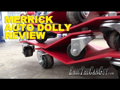Merrick Auto Dolly Review -EricTheCarGuy