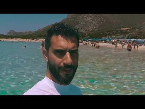 A wonderful day at Falassarna Beach, Greece