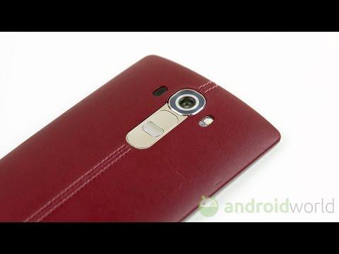 LG G4, recensione in italiano