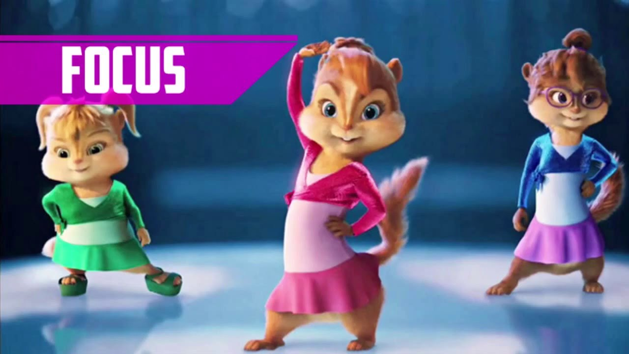 Ariana Grande Focus Alvin And The Chipmunks Cover