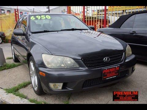 2002 Lexus IS300 E Shift Sedan Newark NJ Used Cars