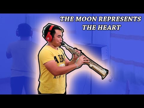 THE MOON REPRESENTS MY HEART - Kenny G Style (Samuel Tago)