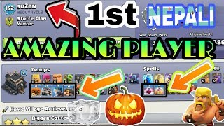 Nepali amazing player in clash of Clans ll Nepal ko amazing player coc ma hernuhos ll