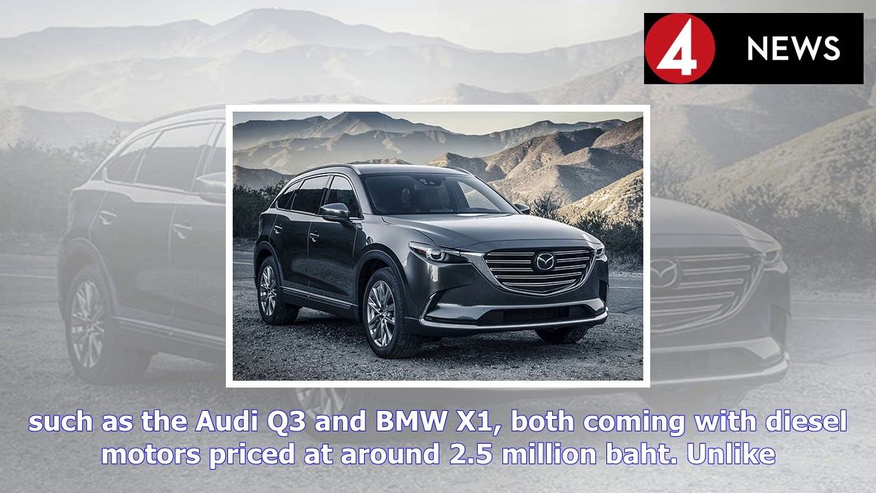 Sundance Mazda Sales >> Mazda Mulls Thai Sales Of New Cx 8 Suv For 2018 Youtube
