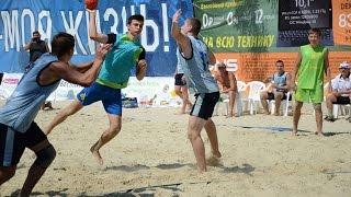 Финал чемпионата России по пляжному гандболу среди мужчин в Ставрополе 2016