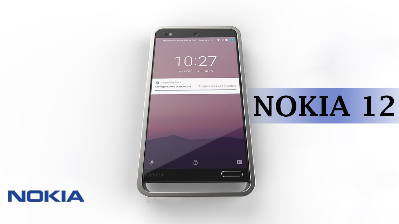 Nokia Smartphone ᴴᴰ Camera 12 Megapixel With 21