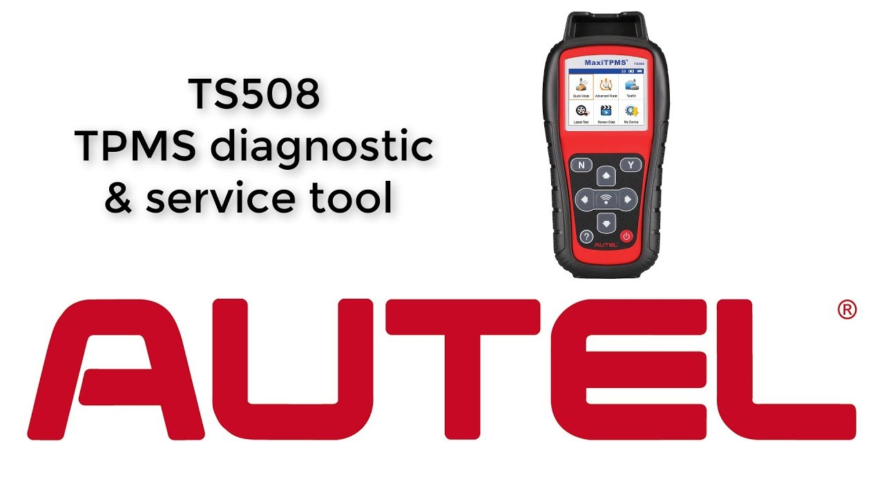 Using the Autel TS508 for Placard Change