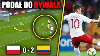 FATALNA POLSKA KADRA! Przegrywamy! Wielki błąd obrońcy! Polska - Kolumbia