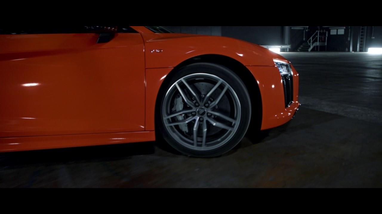 Superb Audi Sport: R8 Spin (FR) | Audi Canada