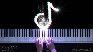 Top 5 TikTok songs played on piano