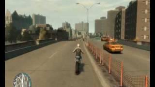 GTA 4 Motorbike Crashes 4