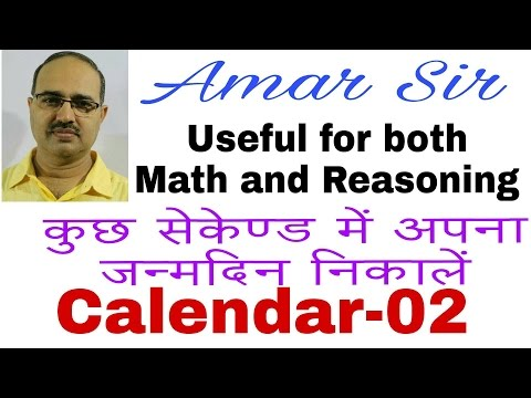 "How to find the ""Day"" of your birth?Just in few seconds 