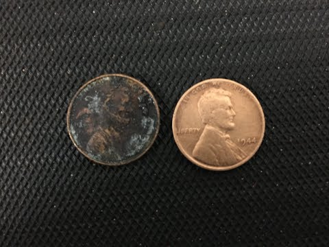 Cleaning coins: My favorite technique
