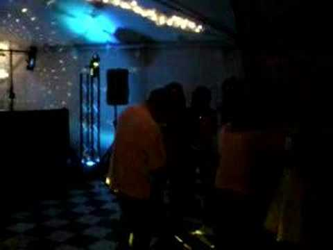 Sweet 16 party setup, mobile dj, KIamath Falls, OR