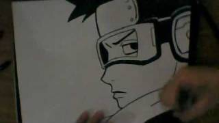 HOW TO DRAW OBITO UCHIHA