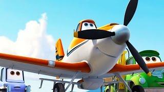 Самолеты мультфильм Disney | отрывок Будни Аэропорта | Вспоминаем лучшее из Диснея | Disney's Planes