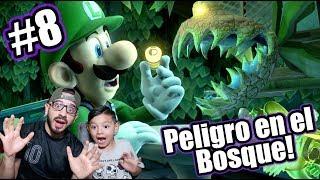 Luigi Mansion en el Bosque | Luigi's Mansion 3 Capitulo 8 | Juegos Karim Juega