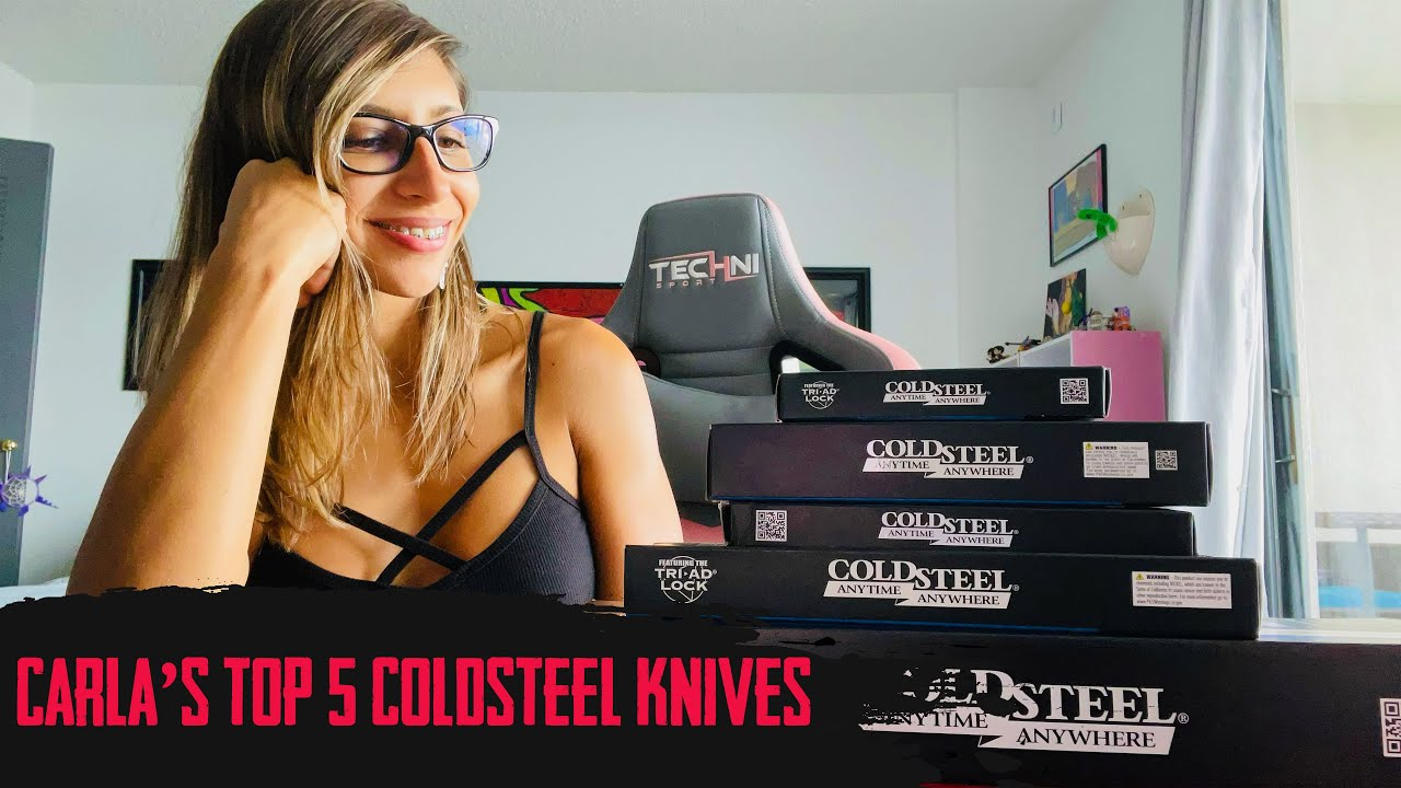 Top 5 Cold Steel Knives | With Carla