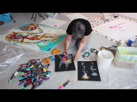 Exposition 'Interritoires' de Caroline Crozat à La Galerie - Octobre 2020