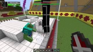 Майнкрафт битва Роботы vs Мутанты