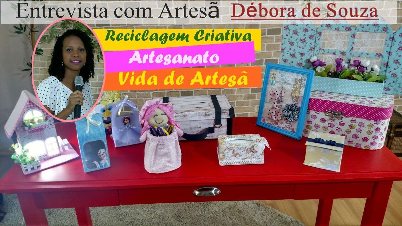 Adesivos De Coração Para Unhas ~ Artesanato Sustentável, Entrevista artes u00e3 Débora de Souza no Programa Evidence YouTube
