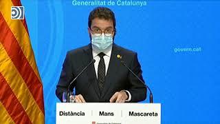 Cataluña se cerrará perimetralmente durante al menos 15 días por #coronavirus