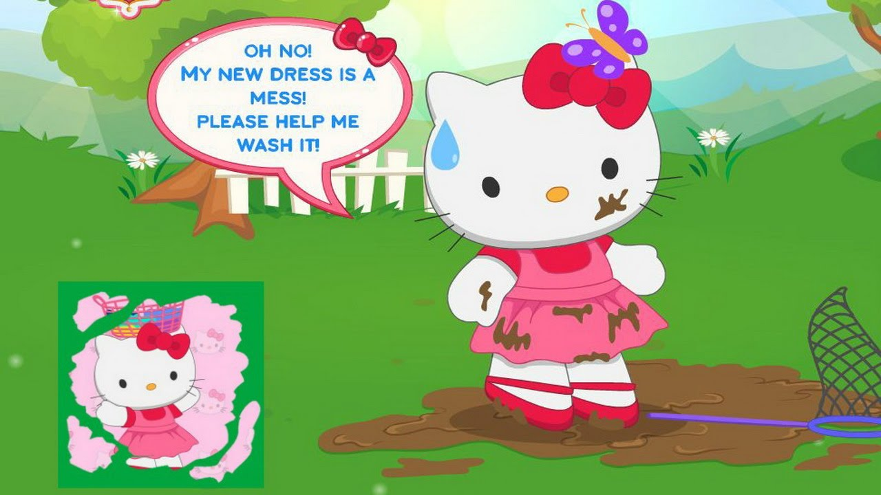 Uncategorized Hello Kitty Games Free Online hello kitty fun laundry day game movie games cleaning youtube
