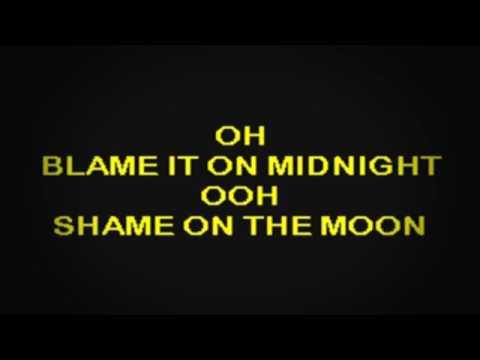 SC2159 02   Seger, Bob   Shame On The Moon [karaoke]