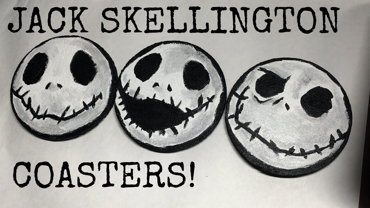 Diy jack skellington s body nightmare before christmas youtube - Diy Nightmare Before Christmas Jack Skellington Coasters