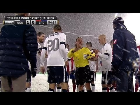 MNT Vs. Costa Rica: Highlights - March 22, 2013