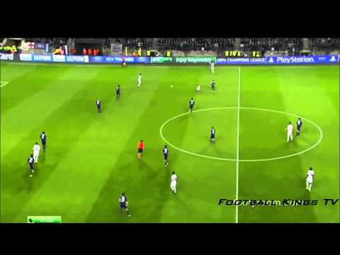 Anderlecht vs PSG 0-5 - All Goals & Highlights - Champions League - Ibrahimovic  - 23-10-2013