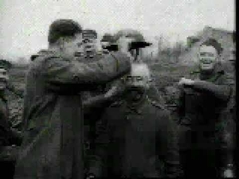 WW1 Armistice Day footage 1918