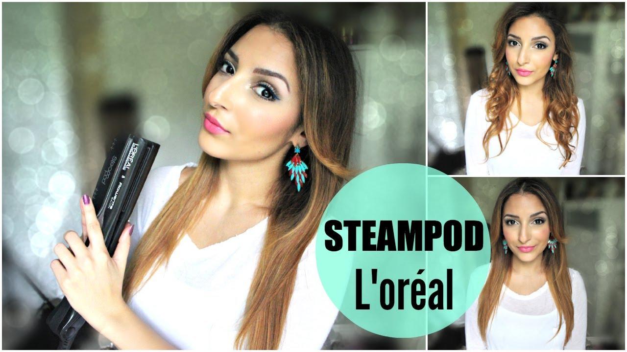 @Sananas: L'oréal SteamPod : Cheveux lisses, souples et brillants !