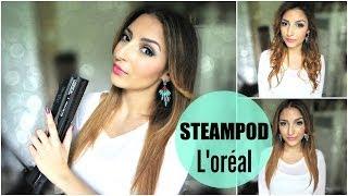 L'oréal SteamPod : Cheveux lisses, souples et brillants !