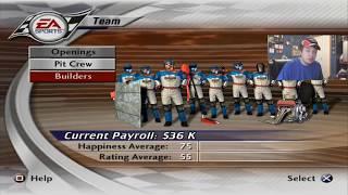 (The Long Road Begins) NASCAR Thunder 2003 Career Mode Setting Up The Team