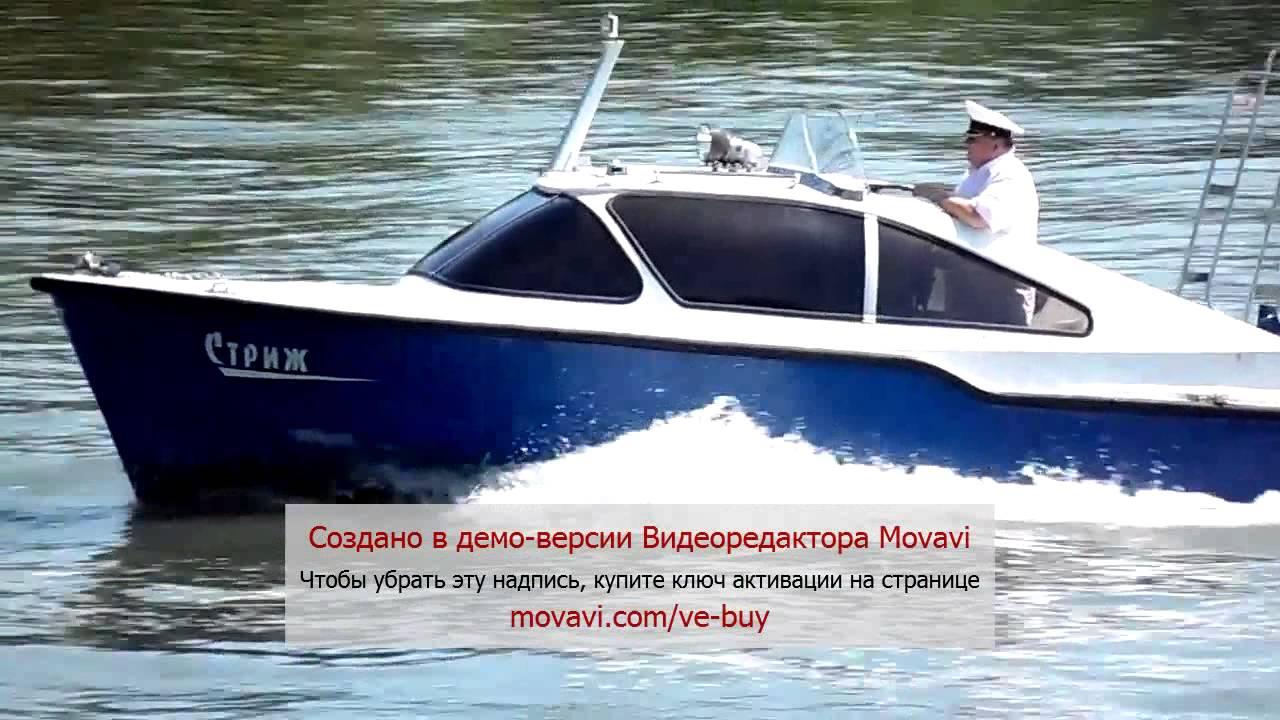 Тестирование тоннельной лодки СТРИЖ JET 420 под водометом TOHATSU .