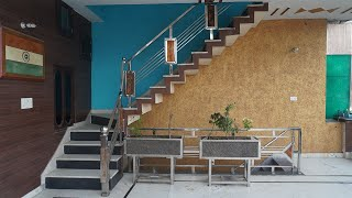 DIY Stainless steel Stair guard rail build and installation - (Part-2)