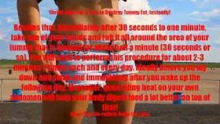 Shrink Belly Fat: 5 Tips to Destroy Tummy Fat, Instantly!