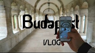 Budapest - Vlog Part 01 (big hotel room, blossom trees, pharma…