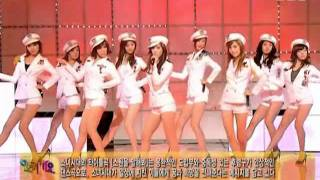 SNSD - Etude + Tell me your wish @ SBS Inkigayo 인기가요 090628