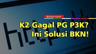 Honorer K2 Gagal Lolos Passing Grade Tes P3K  Ni Solusi BKN