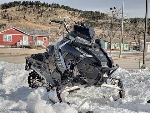 Black Hills Snowmobiling Jan 2019