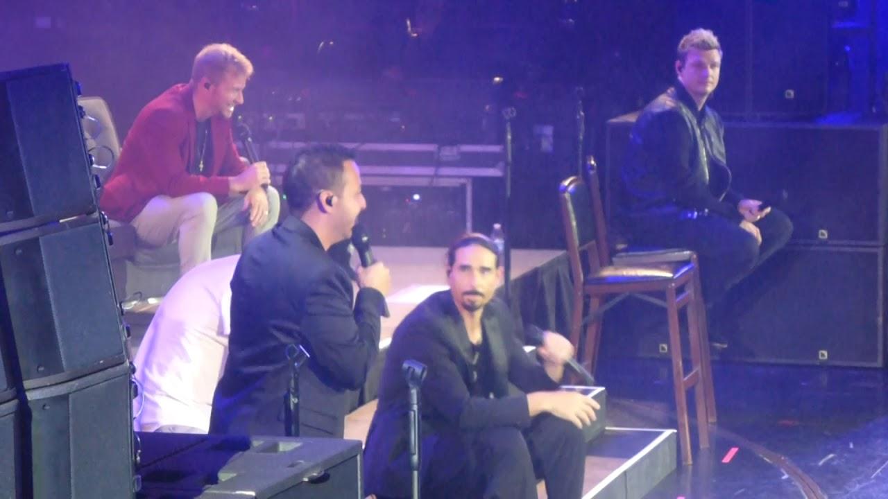 Backstreet Boys Cruise 2018 Storytellers Concert Bigger